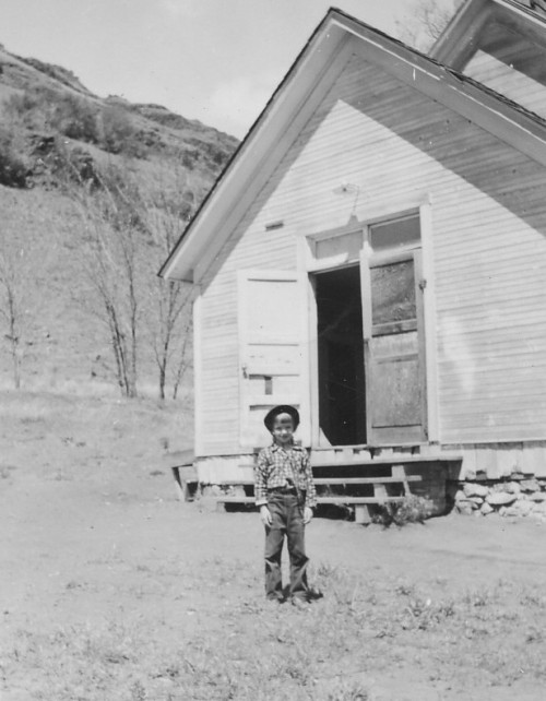 1952 Gail At Imnaha School