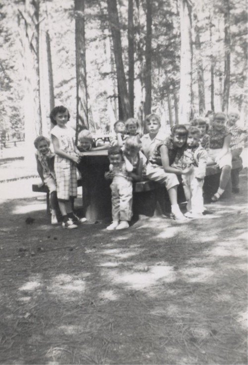 1956 Children of Imnaha-Picnic