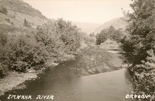 Imnaha River at Town
