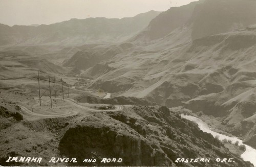 Lower Imnaha River Road