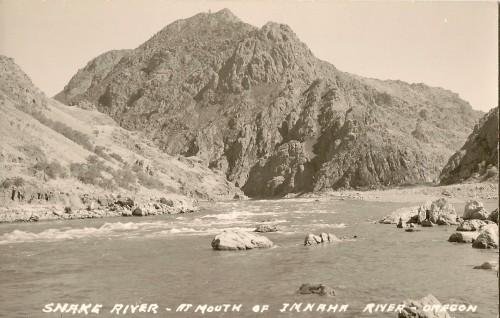 Mouth of Imnaha River at Snake River